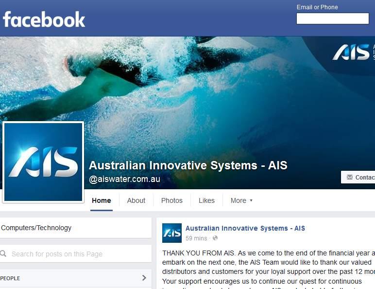 AIS Facebook page_