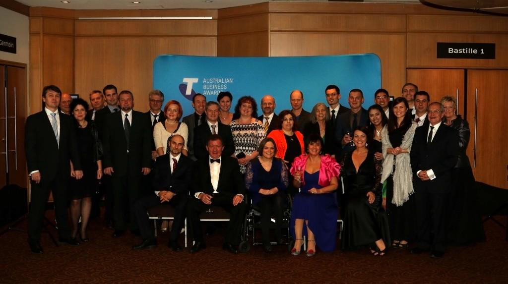 AIS Team at Telstra Business Awards 2015