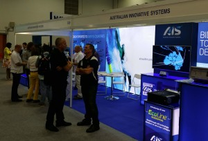 AIS stand and Splash Asia 2015