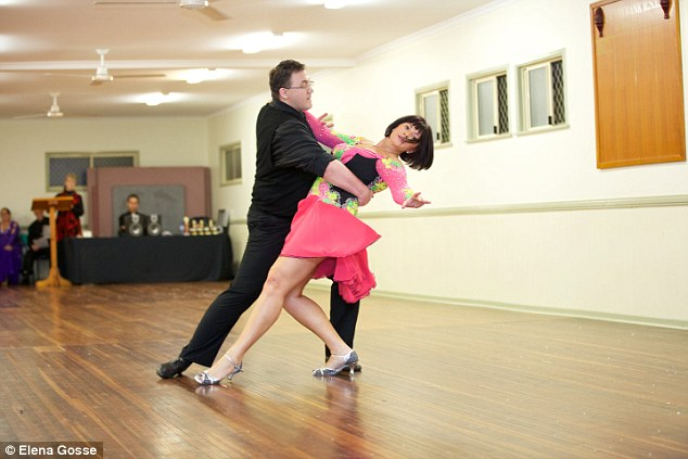 Elena Gosse on the dance floor