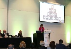 Elena Gosse speaking at APCS