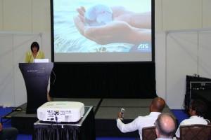 Elena Gosse speaking at Splash Asia