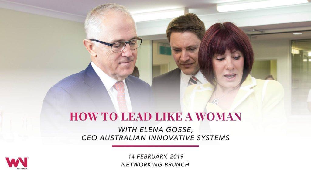 AIS CEO Elena Gosse a guest speaker at Women's Network