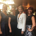 Elena Gosse and Hon Michaelia Cash