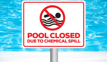 Dangers of storing chlorine for water disinfection